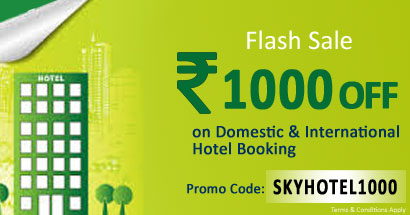 SKY PLANNERS Flash Sale: Grab Rs 1000 OFF on all Hotel Booking