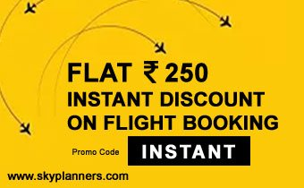 Flat Rs. 200 Instant Discount on Domestic Flights